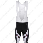2011 Team KUOTA Cycling Bib Shorts Black Red