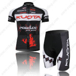 2011 Team KUOTA Cycling Kit Black Red