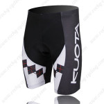 2011 Team KUOTA Cycling Shorts Black Red