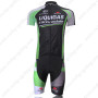 2011 Team LIQUIGAS cannondale Cycle Kit Black Green