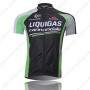 2011 Team LIQUIGAS cannondale Cycling Jersey Black Green