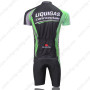 2011 Team LIQUIGAS cannondale Riding Kit Black Green