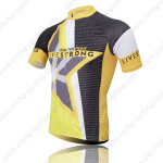 2011 Team LIVESTRONG Bike Jersey Yellow Black