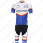2011 Team RALEIGH Bike Kit White Blue