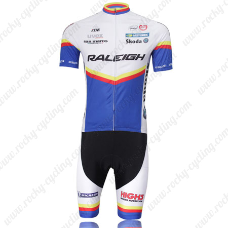 24130bf0a 2011 Team RALEIGH Cycle Apparel Biking Jersey and Padded Shorts ...