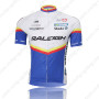 2011 Team RALEIGH Cycling Jersey White Blue