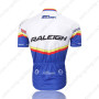 2011 Team RALEIGH Riding Jersey White Blue