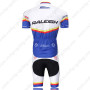 2011 Team RALEIGH Riding Kit White Blue