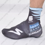 2011 Team SAXO BANK Cycling Shoes Covers Black