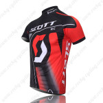 2011 Team SCOTT Cycle Jersey Black Red