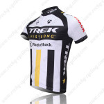 2011 Team TREK Bicycle Jersey White Black