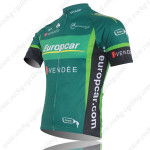 2012 Europcar Bicycle Jersey Green