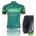 2012 Europcar Cycling Kit Green