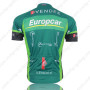 2012 Europcar Riding Jersey Green