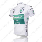 2012 Europcar Tour de France Bicycle Jersey White
