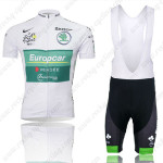 2012 Europcar Tour de France Cycling Bib Kit White
