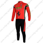 2012 FERARI Cycling Long Kit