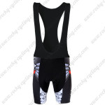 2012 Pearl Izumi Cycling Bib Shorts Black Red
