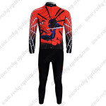 2012 Spiderman Cycle Long Sleeve Kit Red Black