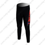 2012 Spiderman Cycling Long Pants Red Black