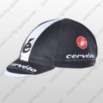 2012 Team Cervelo Cycling Cap Hat Black