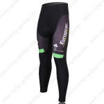 2012 Team Europcar Cycling Long Pants Green