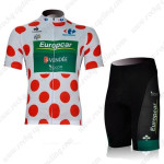 2012 Team Europcar Tour de France Cycling Kit Polka Dot