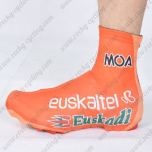 2012 Team Euskaltel EUSKADI Cycling Shoes Covers Orange