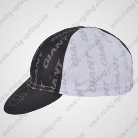 2012 Team GIANT Pro Bicycle Accessories Riding Cap Hat White Black ... a5d6a42fb190