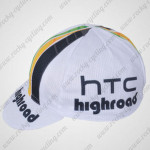 2012 Team HTC highroad Cycling Cap Hat White
