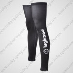 2012 Team HTC highroad Cycling Leg Warmers Sleeves Black