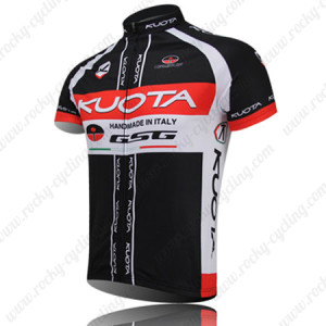 2012 Team KUOTA Bike Jersey Black Red