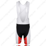 2012 Team KUOTA Cycle Bib Shorts Black Red