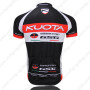 2012 Team KUOTA Cycle Jersey Black Red