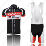 2012 Team KUOTA Cycling Bib Kit Black Red