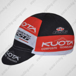 2012 Team KUOTA Cycling Cap Hat Black Red