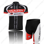 2012 Team KUOTA Cycling Kit Black Red