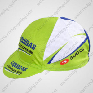 2012 Team LIQUIGAS cannondale Cycling Cap Hat Green