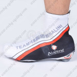 2012 Team Nalini Cycling Shoes Covers White Black