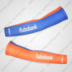 2012 Team Rabobank Cycling Arm Warmers Sleeves Blue Orange