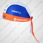 2012 Team Rabobank Cycling Bandana Head Scarf Blue Orange