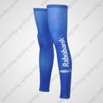 2012 Team Rabobank Cycling Leg Warmers Sleeves Blue