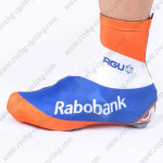 2012 Team Rabobank Cycling Shoes Covers Orange Blue