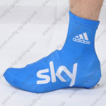 2012 Team SKY Cycling Shoes Covers Blue
