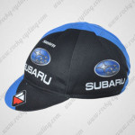 2012 Team SUBARU Cycling Cap Hat Black Blue