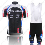 2013 Team CUBE Cycling Bib Kit Black