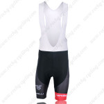2013 Team Cervelo Pro Cycling Bib Shorts Black Red
