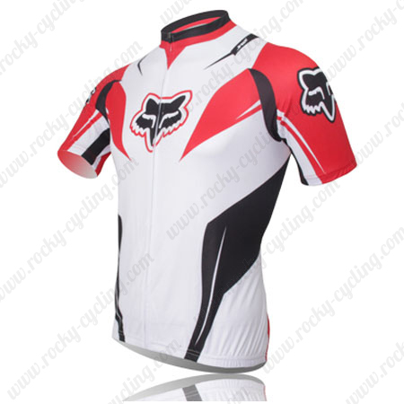 ... Wear Biking Maillot Jersey Tops Shirt White Red. 2013 Team FOX Bicycle  Jersey White Red b4de3cb92