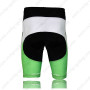 2013 Team KUOTA Bicycle Shorts White Green