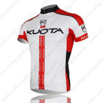 2013 Team KUOTA Bike Jersey White Red